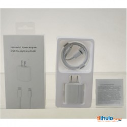 USB-C 20W Power Adapter with Cable for Apple iPhone 12, 12 Mini, 12 Pro, 12 Pro Max & earlier Models