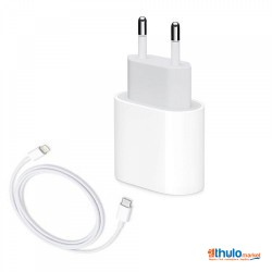 18W USB Power Adapter with USB-C Lighting Cable for iPhone 11, 11 Pro Max, X, 8 Plus