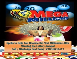 Lottery Spell Caster in USA | Powerful Lottery Spells to Win the Mega Millions Call +27836633417