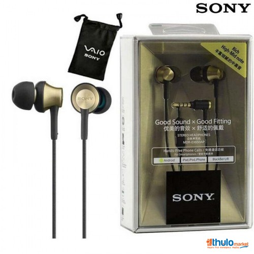 Sony MDR-EX650AP In-Ear Headphones 3.5mm Wired Earbuds Stereo Music Earphone Headset Hands-free with Mic
