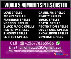 Most Trusted Astrologer Healer   Astrologer In Canada chief Musa contact him @+256778365986 - Black magic expert