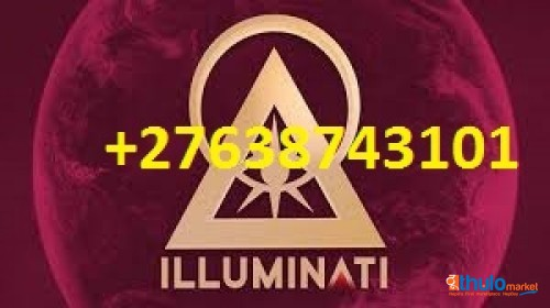+27638743101) + JOIN ILLUMINATI MEMBERS TODAY FOR FAME, MONEY, LOVE AND BUSINESS, USA, TRINDAD USA - SWEDEN -TOBAGO -IRELAND-TRINDAD, GERMANY,