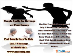 Voodoo Revenge Spells: Extremely Powerful Revenge Spells On Someone Who Harmed You   Revenge Spells to Kill My Ex Lover Call +27836633417