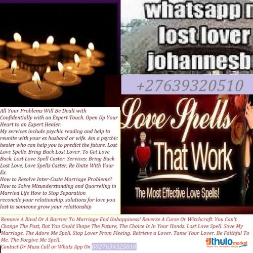 Bring Back Lost Lover/Ex Love Spells |+27639320510|Love Me Alone Spell/Love Potion|Stop A Divorce|