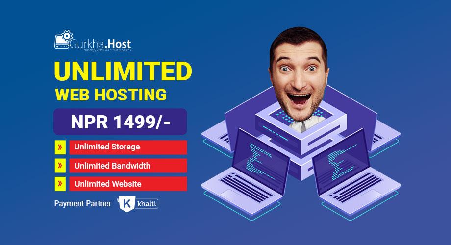Unlimited Web Hosting - Gurkha.Host