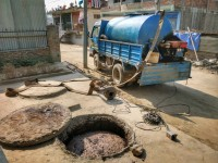 Drainage and septic tank cleaning